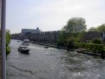 balkon uitzicht over de Rijn