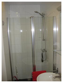impressie van de badkamer