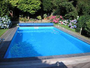 Verwarmde privé zwembad