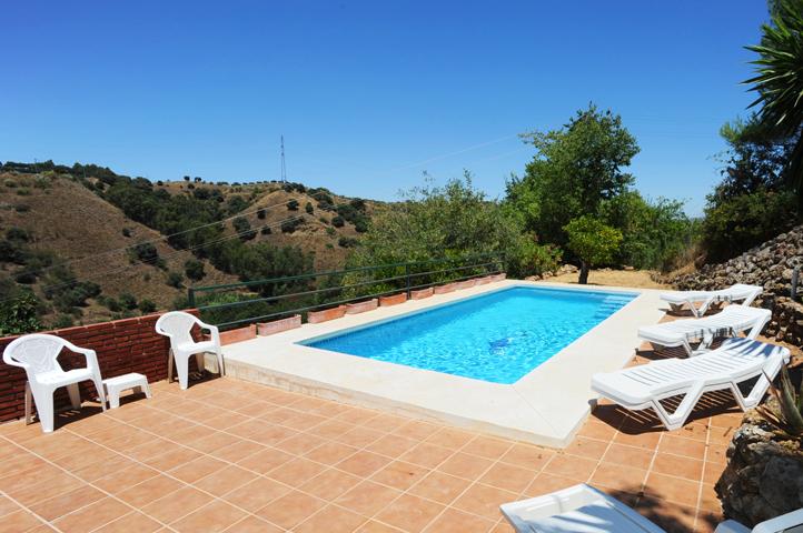 Casa las dos cuevas andalusi spanje huren vakantiehuisjes - Terras teak zwembad ...