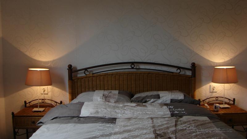 De slaapkamer op de beganegrond